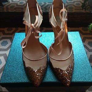 Betsy Johnson glittery stiletto